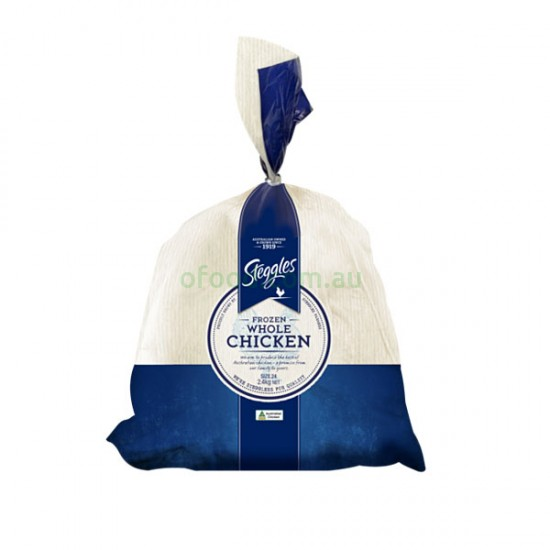 Steggles Frozen Whole Chicken 2.4kg