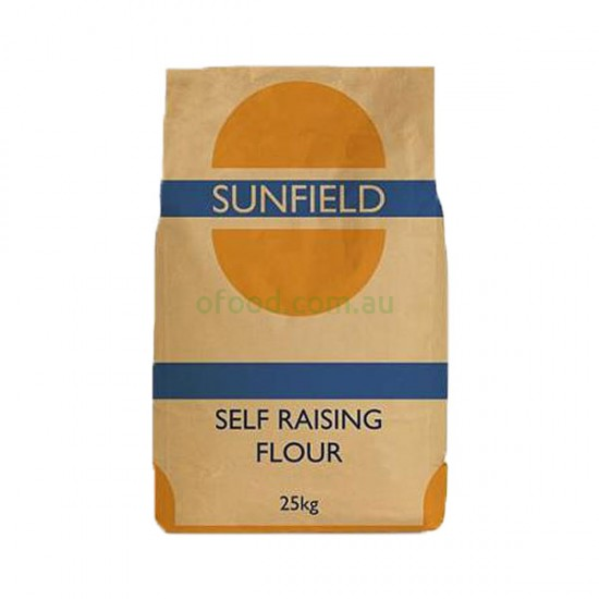 Sunfield Self Raising Flour 25kg