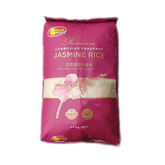 Cambodian Fragrant Jasmine Rice 20kg