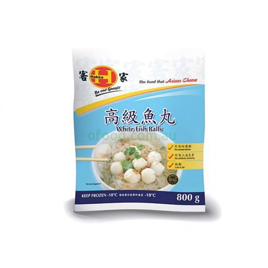 Hakka Top White Fish Balls 450g