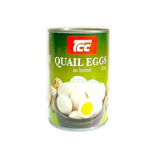 TCC Quail Eggs in Brine 425g